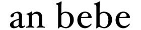 an bebe : 美容室専売品シャンプー・トリートメント公式サイト